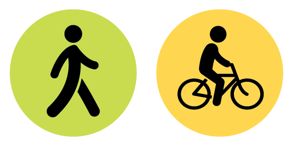 moderate activity icons