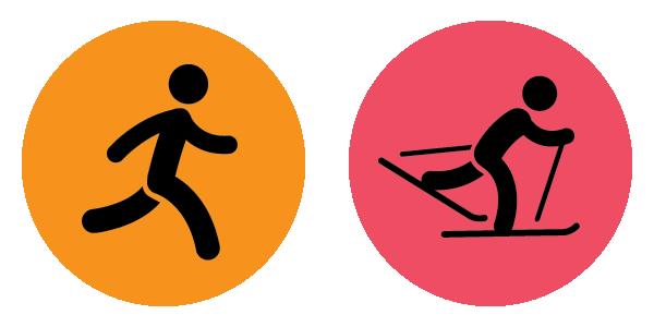 vigorous activity icons